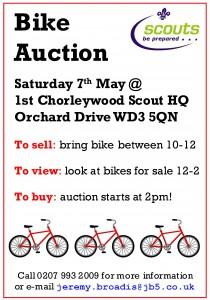 Bike auction advert 2016
