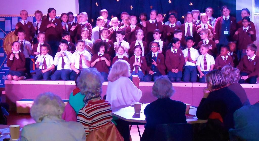 Chorleywood Primary School sing