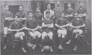 First Football tea 1913