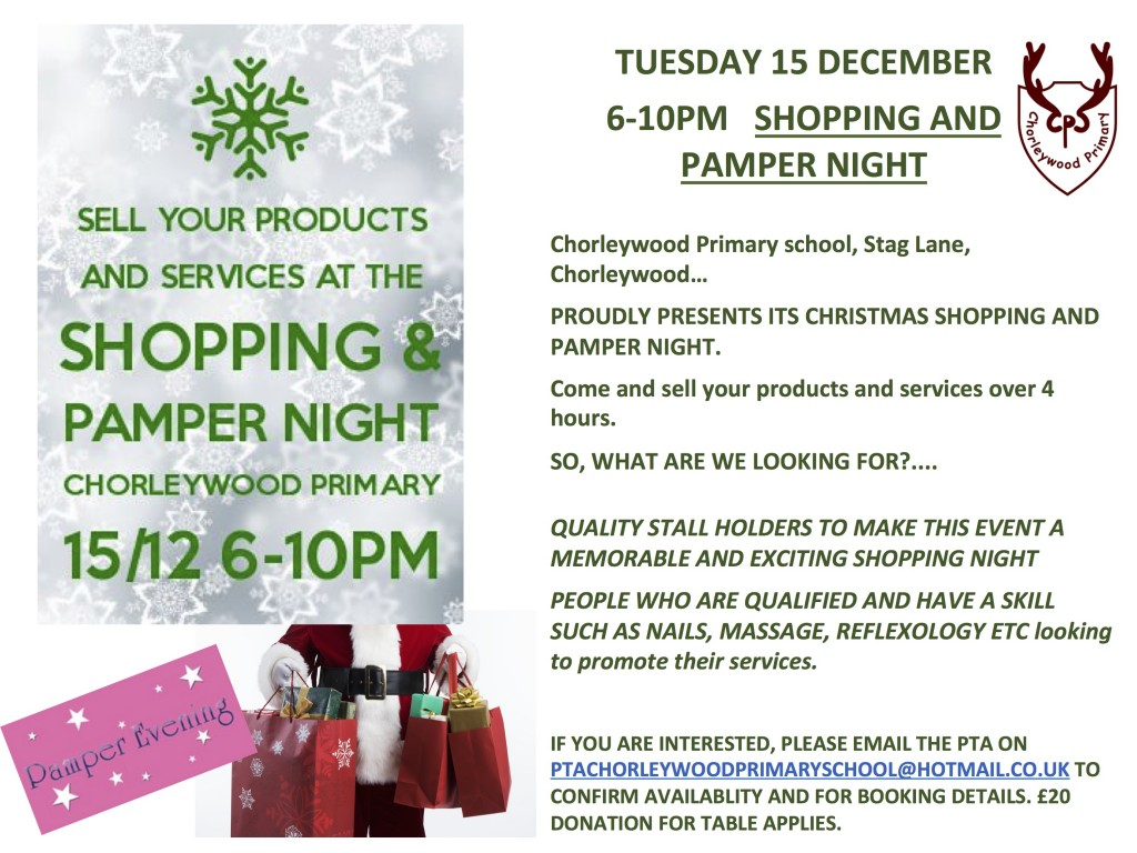 CWPS Pamper Night