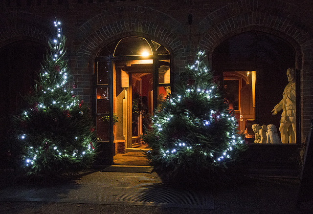 Twas the Night before Christmas at Hughenden Manor