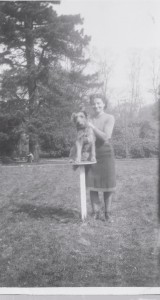 1942 Chorleywood House with Matron Mary and Bowser